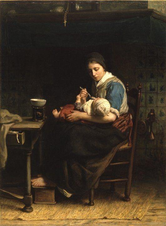 The Cottage Madonna - Jozef Israels
