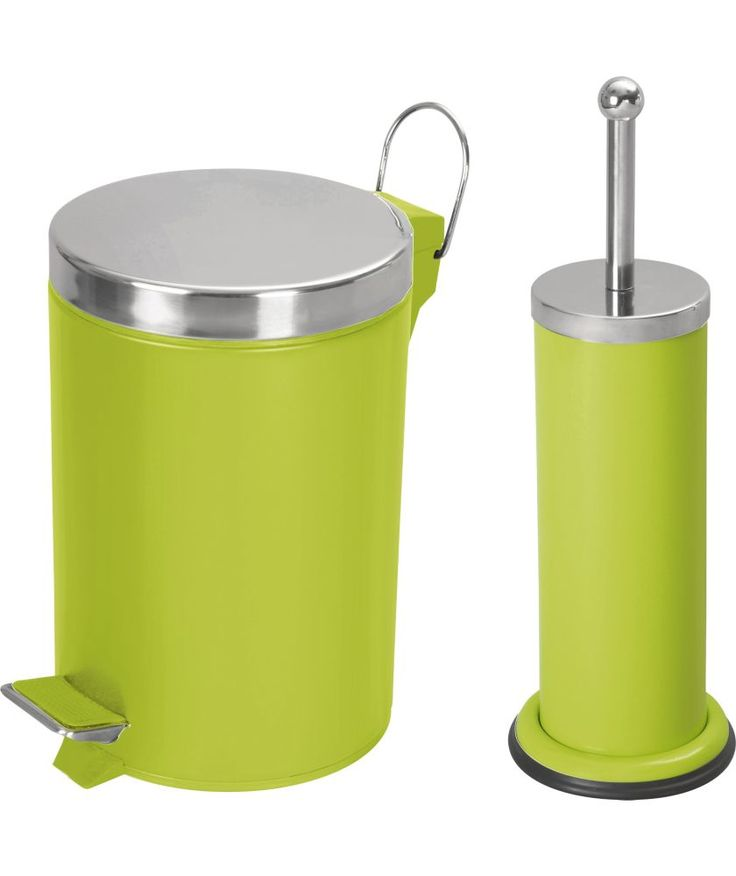 17 best images about bathroom on pinterest for Green bathroom bin