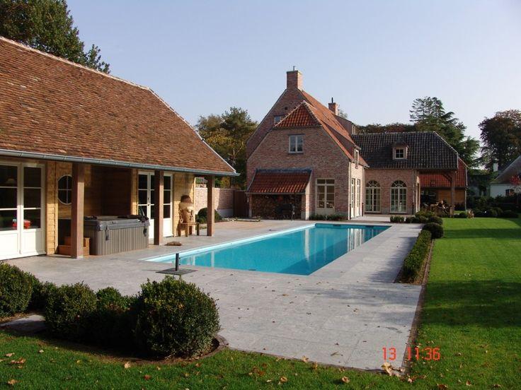 Tuin zwembad pastorij google zoeken tuinen pinterest tuin met and search - Zwembad cottage ...