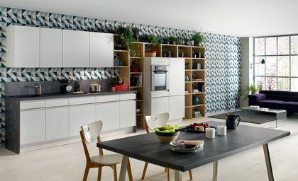 25 best ideas about papier peint cuisine on pinterest - Cuisine en longueur ouverte ...