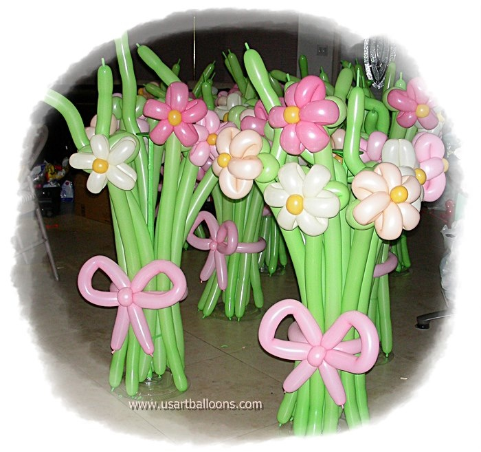 Best balloon flower bouquets images on pinterest