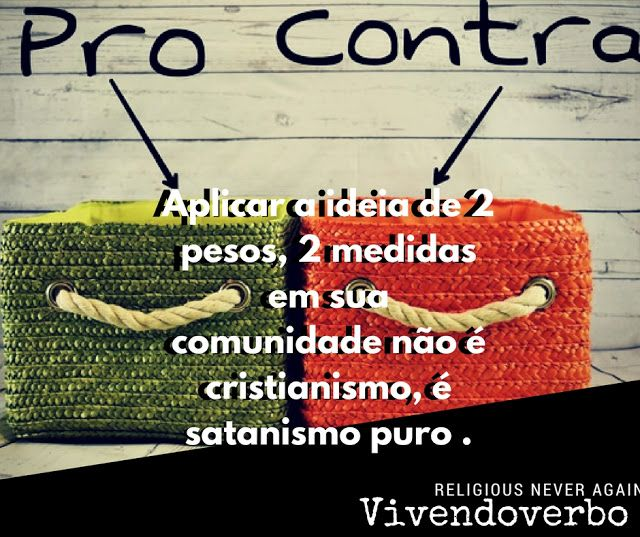 Vivendoverbo: Dois pesos, duas medidas - Lucas 6:38 - Vivendover...