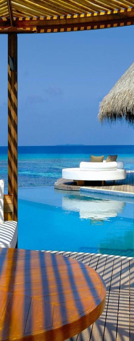 W Retreat  Spa...Maldives. Someone please take me there!!