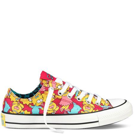 Simpsons converse shoes