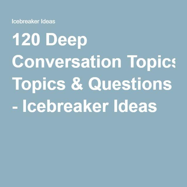 List of icebreakers dating 5