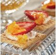 """TRISCUIT Cracked Pepper """"Cheesecake"""" Topper Recipe from HEB"""