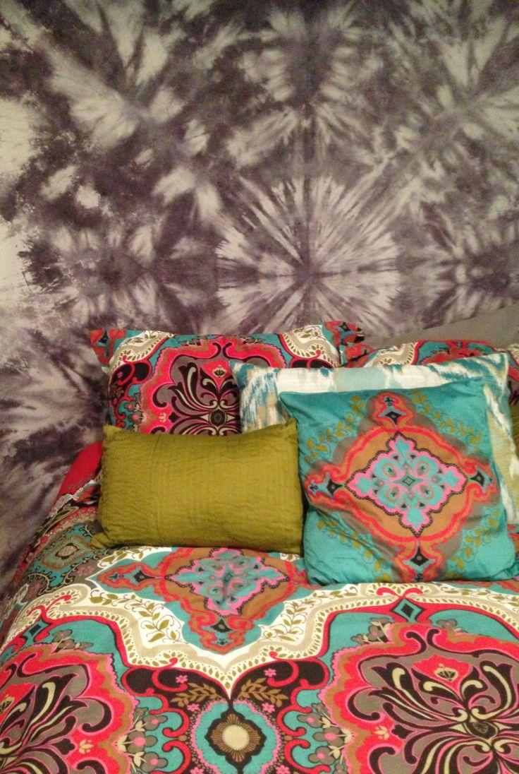 Diy Tie Dye Tapestry Bedding