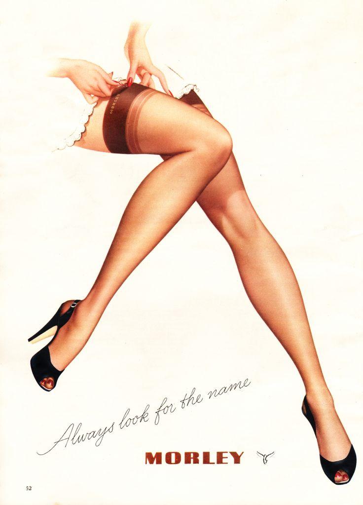 1950 Morley Stockings