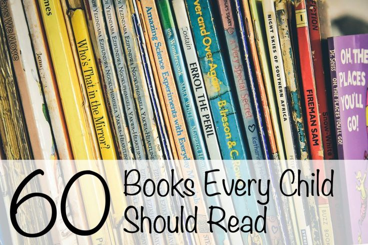 60 Books Every Child Should Read. With world book day just around the corner, here is a great post on books that every child should read.