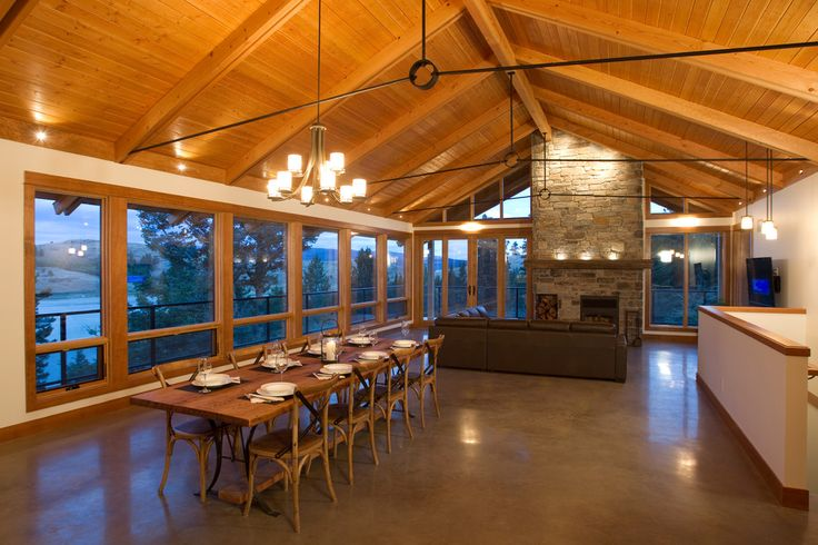 Over Truss Ceiling Google Search Exposed Timber