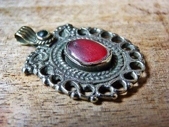 Pendant  old Pakistan pendant  tribal jewelry  by AnticsEthnics, $18.00