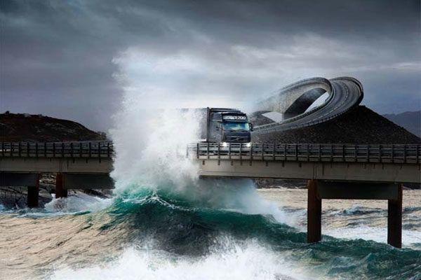 Carretera del Océano Atlántico, Noruega