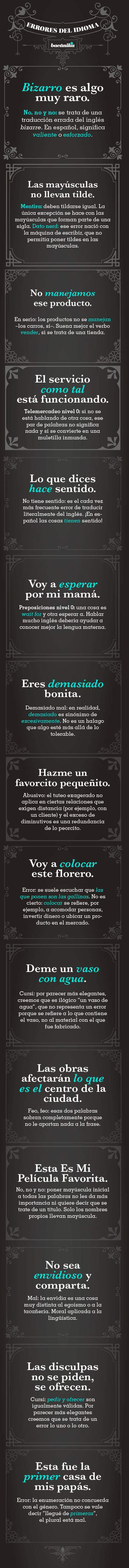 Mitos de la lengua española 2 by Bacanika