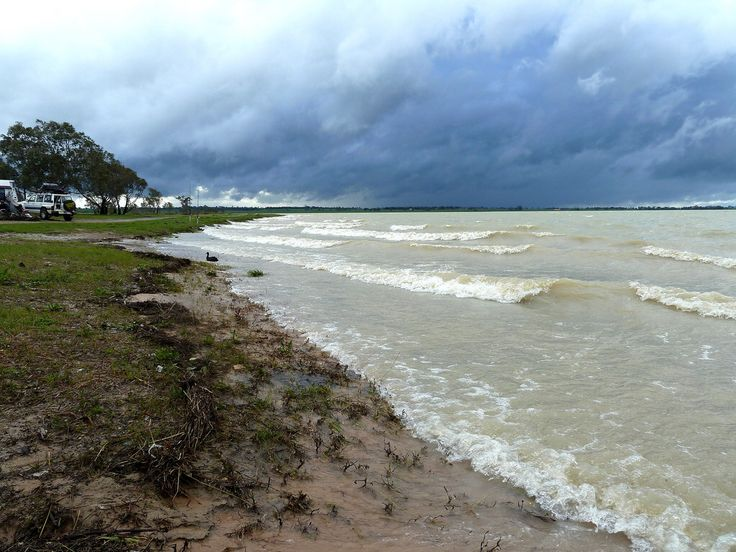 Stormy Weather in Green's Lake