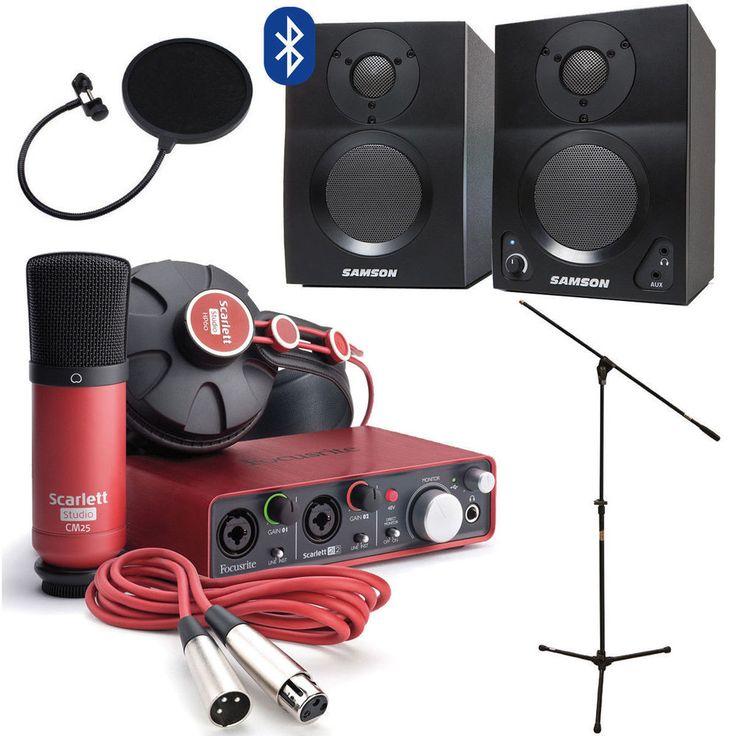 home recording studio equipment for sale
