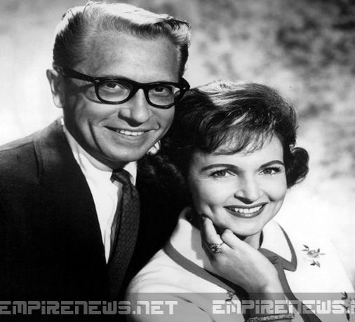 Betty White/ Ludden ( her husband) He passed in 1981, from Stomach Cancer