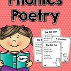 This poetry unit includes 27 different phonics poems that focus on different word families or phonemes.  Poetry is such a great way for students to practice fluency, visualization and phonics skills. I created this unit to help my students practice all these skills and create their own poetry journal throughout the year!