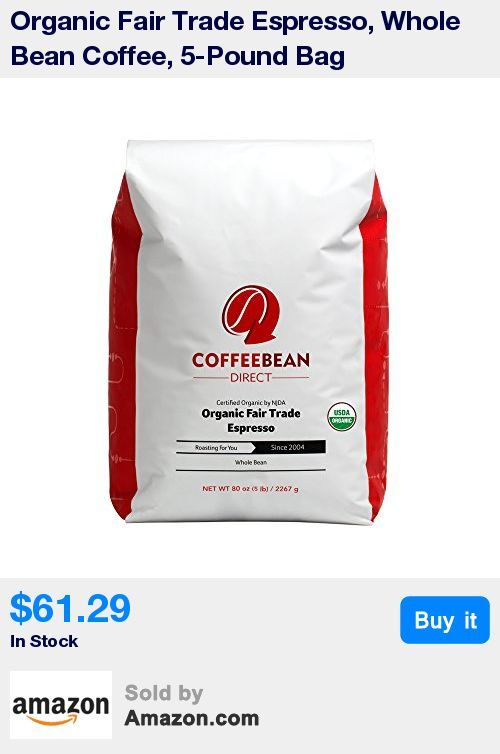 An espresso blend comprised of certified Fair Trade beans * Packaged to ensure optimal freshness * Coffee is roasted fresh immediately prior to packaging and shipping from coffee bean direct's facility * Coffee beans are slow-roasted to bring out a fuller, more even flavor * Geat for personal use. Ideal for chefs and food service.