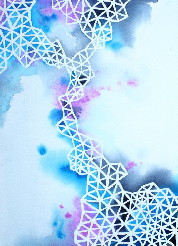 Draw your picture using a white crayon and then cover in watercolour paint. A great activity for kids (and adults) of all ages! The results are always good! If you want beautiful crisp lines then replace the crayon with masking fluid!