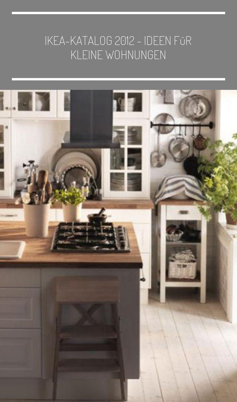 Der Ikea-Katalog 2012 wirbt mit Lösungen für kleine Räume ...