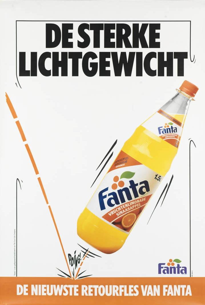 Fanta, vintage, 80s