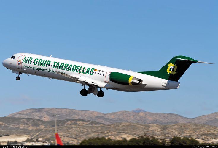 Photo of EC-IPV - Fokker 100 - Air Grup Tarradellas