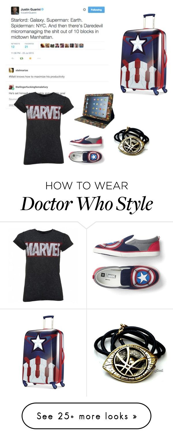 """Me "" by modadeangelica on Polyvore featuring Marvel"