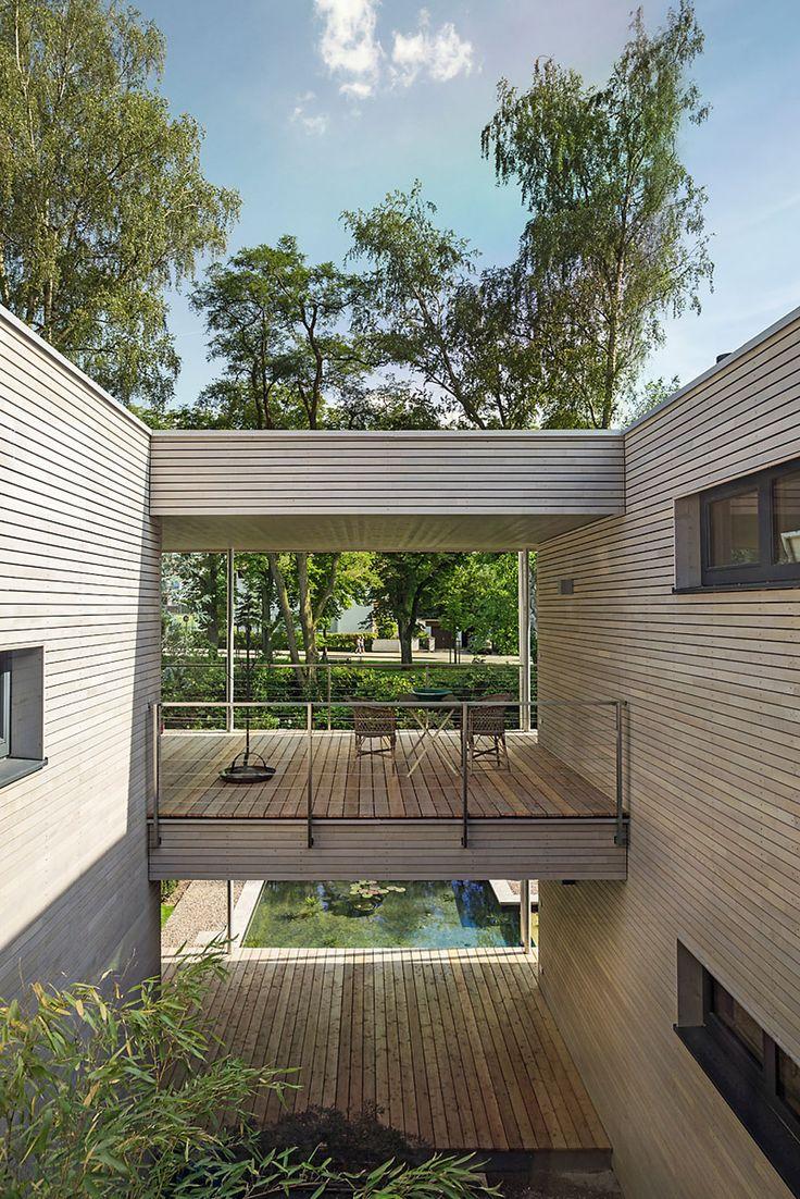 Ber ideen zu holzhaus fertighaus auf pinterest for Holzhaus container