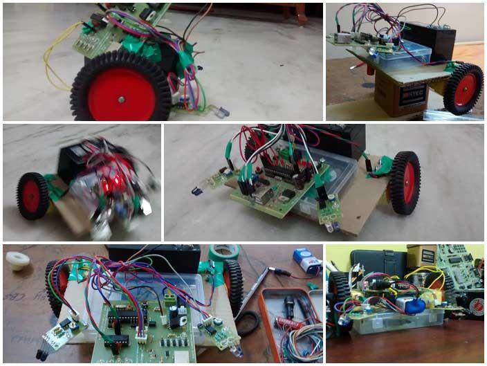 Arduino Based Obstacle Avoiding Vacuum Cleaner Robot