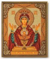 В-165 Набор для изготовления иконы из бисера 'Богородица Неупиваемая Чаша'
