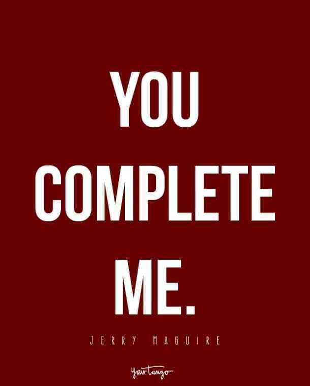 You Complete Me You And Me I U Pinterest Quotes Love Custom Love Marriage Quotes