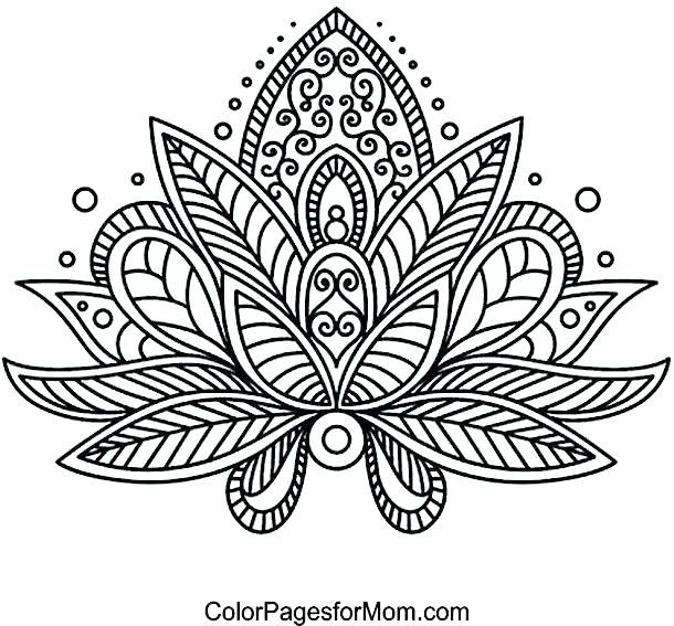 Free Printable Mandala Coloring Pages For Adults Mandala