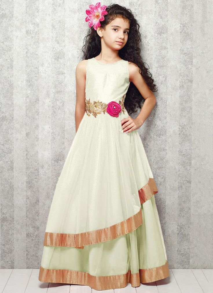 Ready to ship #kids #gown online.  Contact us: +91 9824678889 Email id: sales@manjaree.in