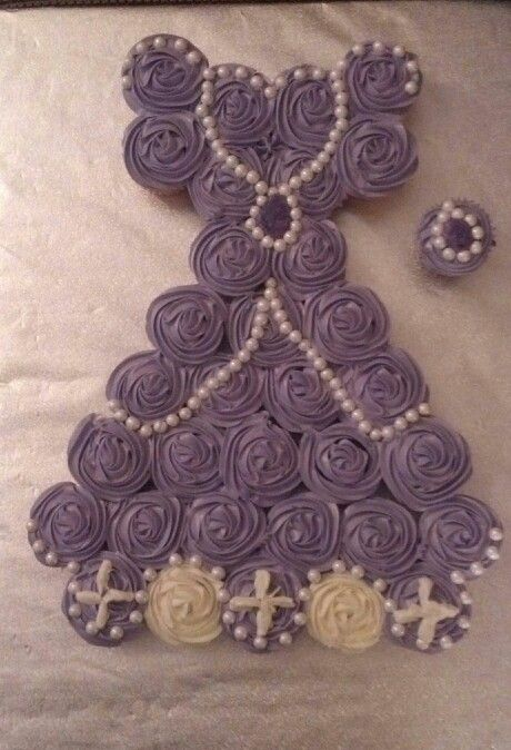 Princess Sofia cupcake cake!