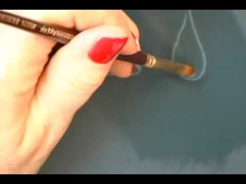 Cómo pintar gotas de agua con acrílico?