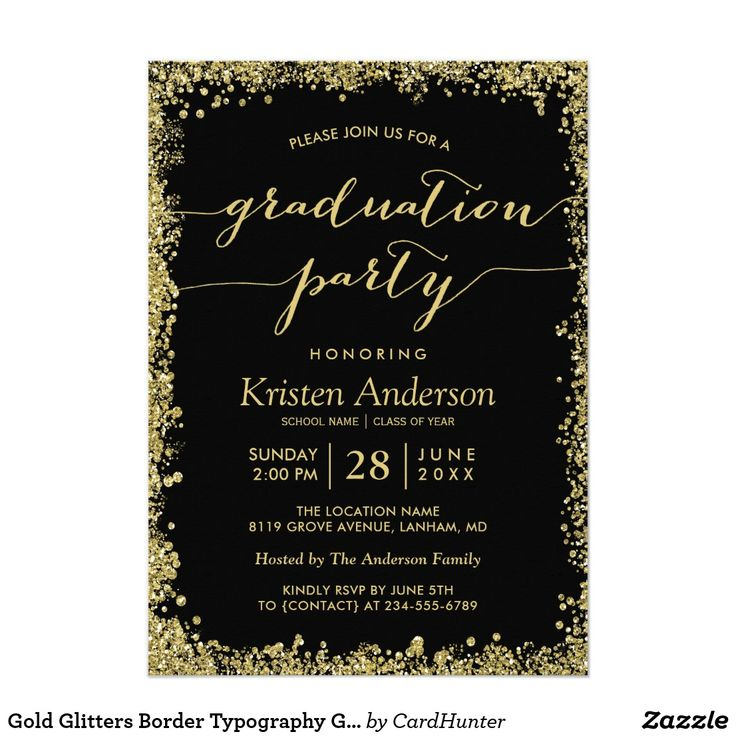 7581 best 2017 graduation collections images on pinterest, Party invitations
