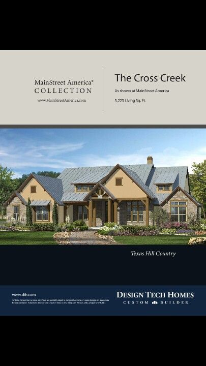 Cross Creek Texas Hill Country By Design Tech Builders