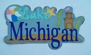 Stampin Lara: Lake Michigan title