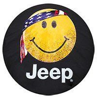 Genuine Jeep Accessories 82212306 Cloth Spare Tire Cover with Smiley Face Logo Review 2017