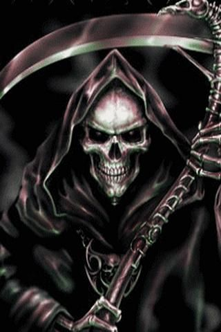 Cool Skull Logos With Guns 60 best Grim Reaper im...