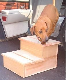 8 best dog steps for bed plans images on pinterest | dog stairs
