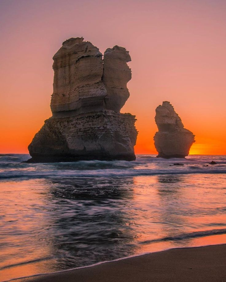 Last nights sunset at Gibson Steps, Great Ocean Road