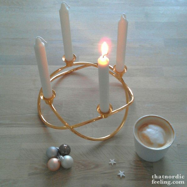 Advent with a Nordic twist via that nordic feeling