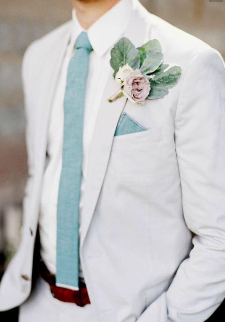 Pastel hues. Summer wedding suit ideas grooms #groom #suit