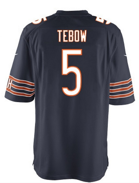 Tim Tebow Chicago Bears jersey - only in my dreams... I would totally buy one though.