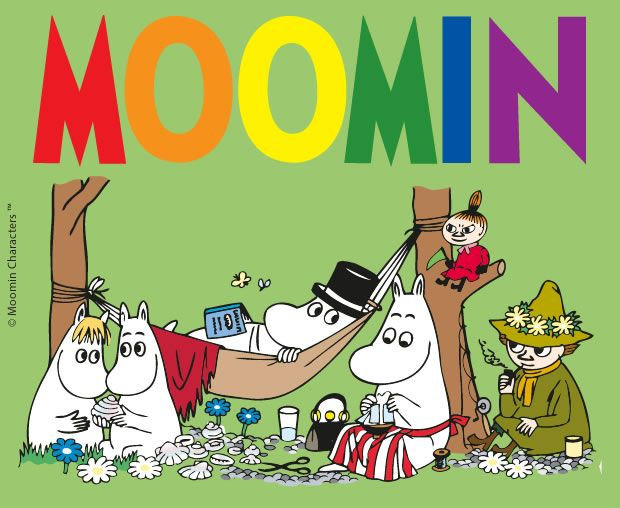 MOOMIN colouring pages