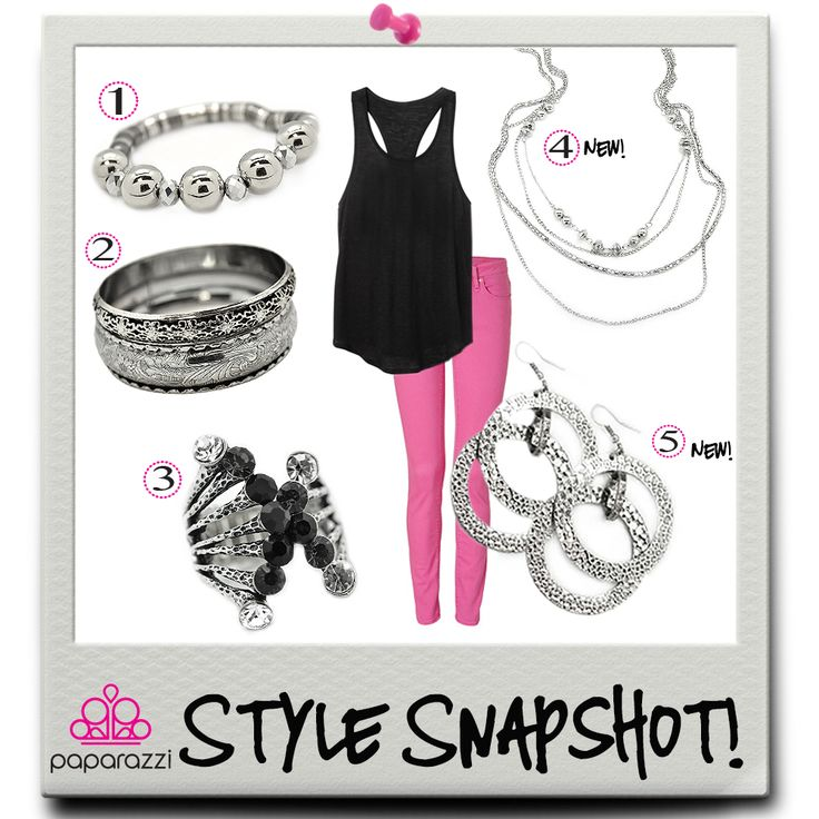 { Style Snapshot } Sometimes you just need to sport some Paparazzi pink!