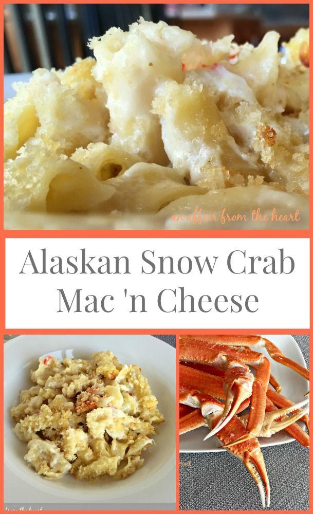 Alaskan Snow Crab Mac 'n Cheese - Decadent Mac 'n cheese made with Alaskan Snow Crab meat, Gruyere and Havarti cheeses. #WildAlaskaSeafood #CleverGirls @alaskaseafood