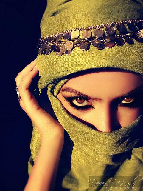 Arabic veil