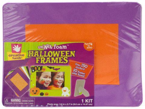 foam halloween photo frames & stickers kit Case of 20